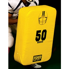 """Fisher Athletic Curved Shield 30""""x18""""x4"""" 4lbs"""