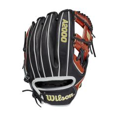 "Wilson A2000 1975 Black/Copper 11.75"" Baseball Glove"