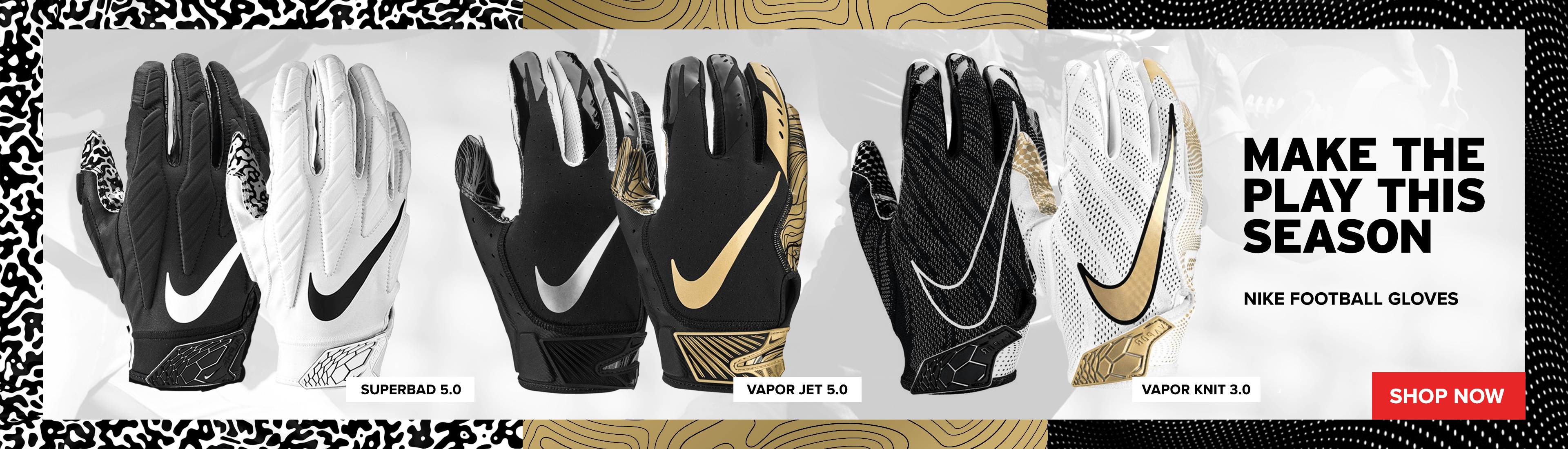 Nike Football Gloves | Kahunaverse Sports