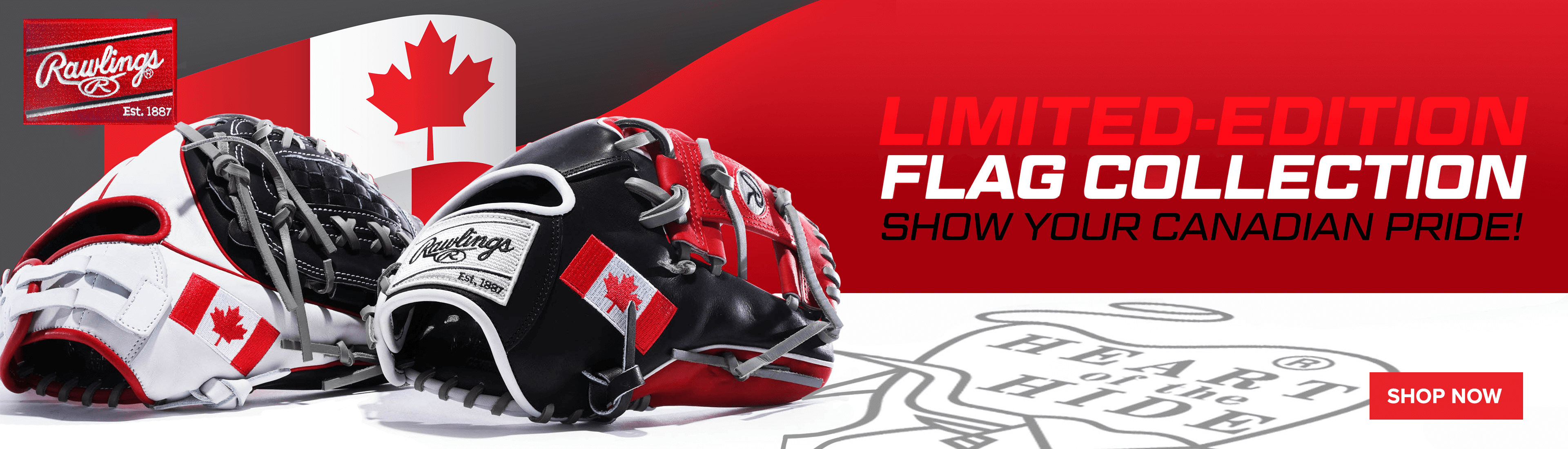 Rawlings Canada Gloves | Kahunaverse Sports